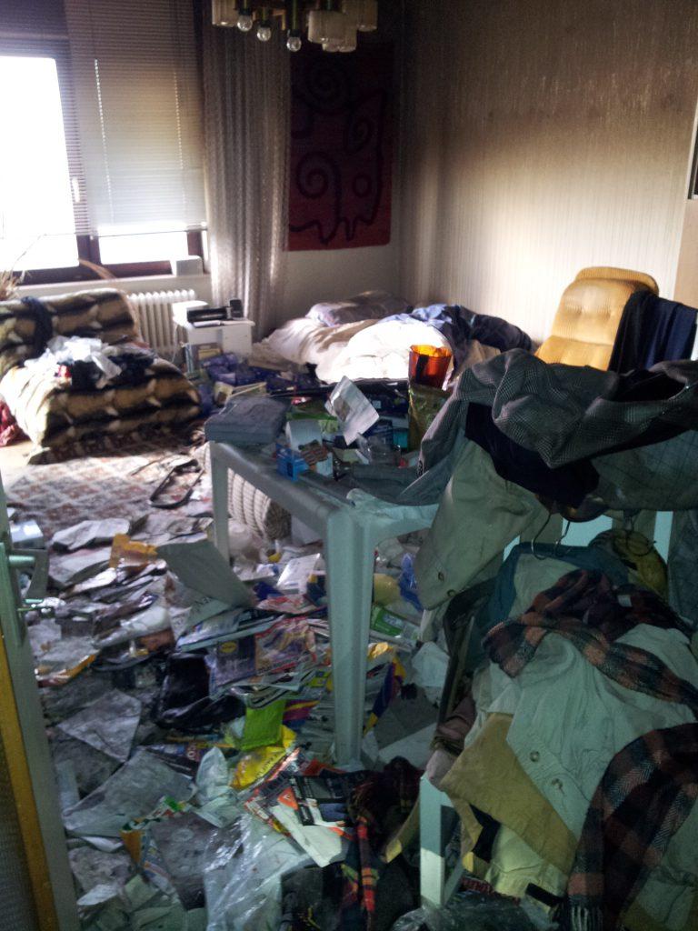 Schadenbeispiel Wasserschaden im Wohnraum