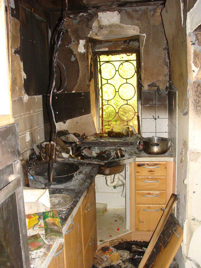 Schadenbeispiel Küche